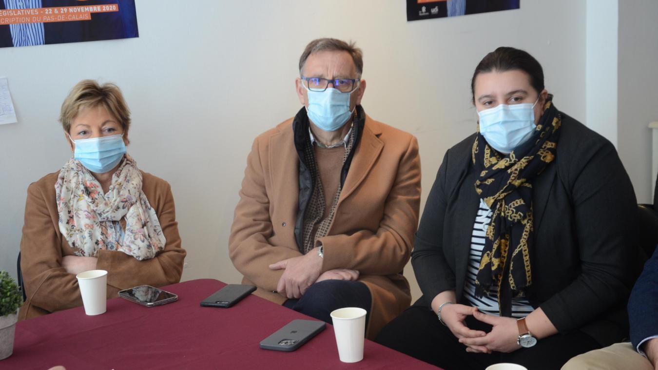 La Calaisienne Faustine Maliar et Jean-Luc Marcotte poursuivent leur campagne.