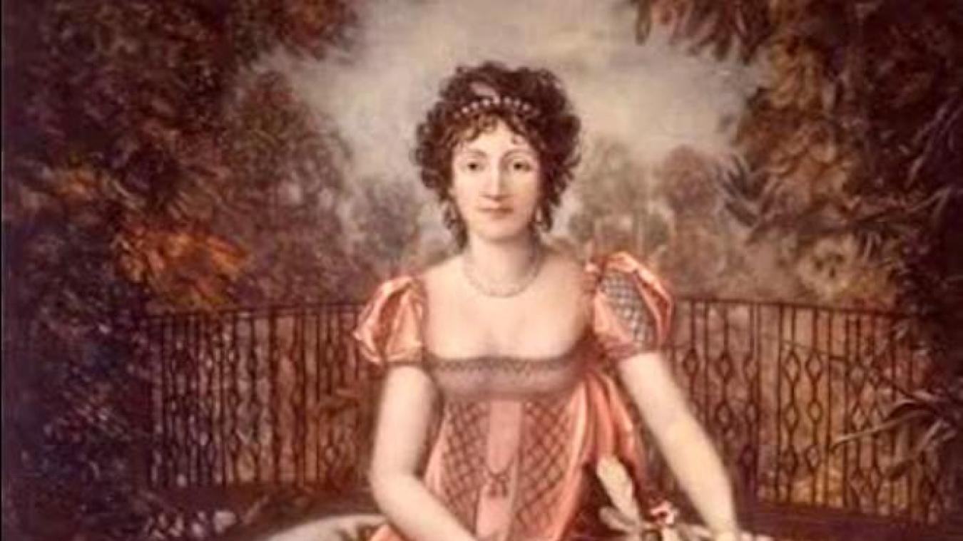 Alexandrine dans la splendeur de sa jeunesse. Elle est encore Madame Jouberthon.