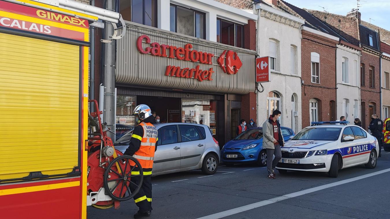 Lens : un court-circuit finalement sans gravité au Carrefour City