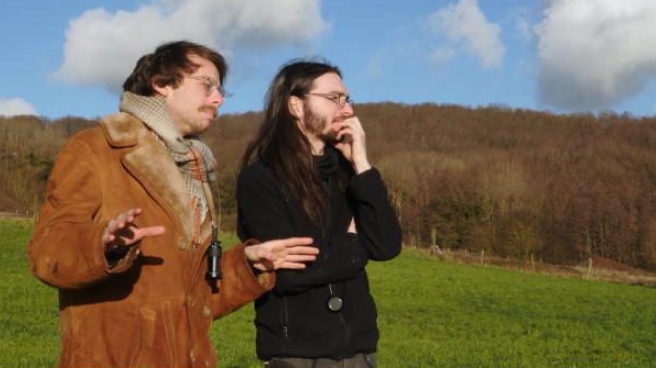 «Les voyages de Guillaume de Rubrouck» seront réalisés par Raphaël Royer (à gauche), Léo Follet et Ludivine Pelé.