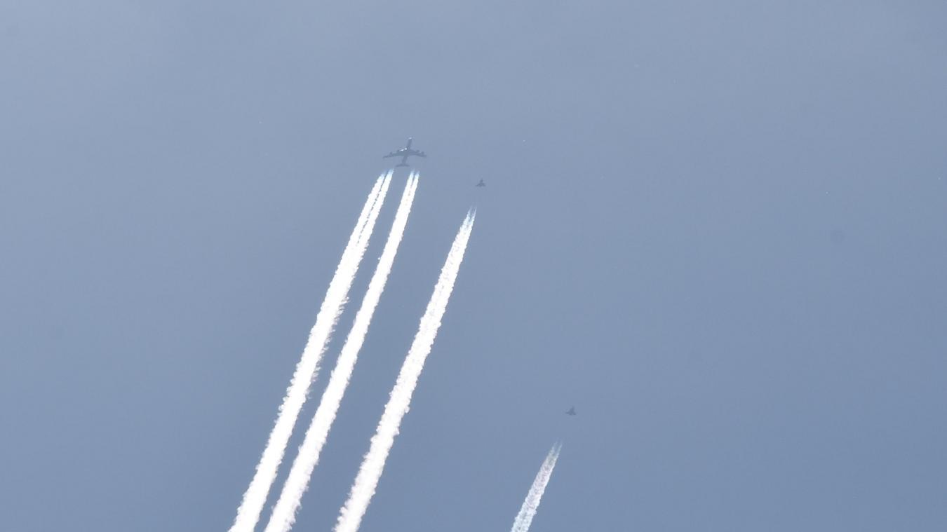 De nombreuses personnes ont aperçu ces appareils dans le ciel de la Côte d'Opale.