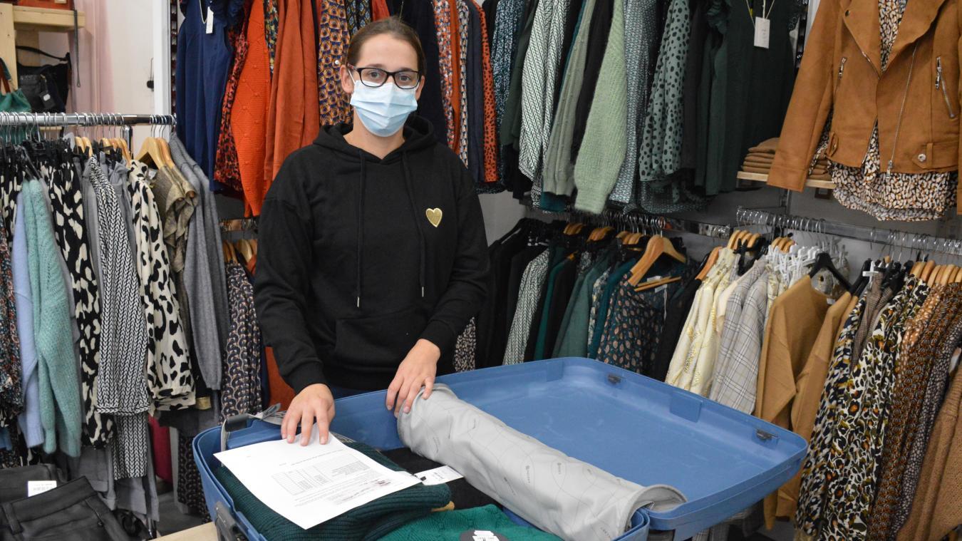 Perrine Février, de Toutc'qui brille, sera l'une des trois commerçantes présentes ce mercredi sur le marché.