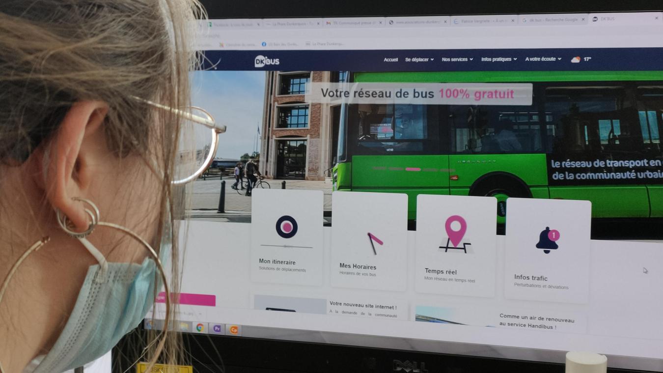 Le nouveau site Internet de Dk'bus permet de chatter avec un téléconseiller et de calculer un itinéraire.