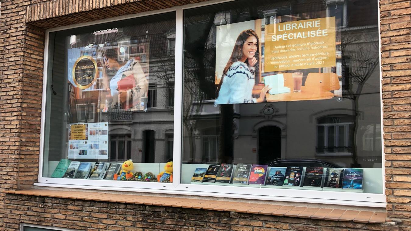 La Librairie des Dunes se situe au 41, avenue du Général-Kléber, à Dunkerque.
