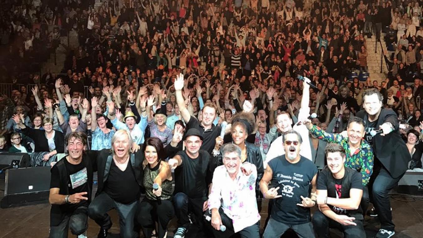 Concert mémorable au Palais des sports de Berck en octobre 2016, avec Patrick Juvet en guest star.