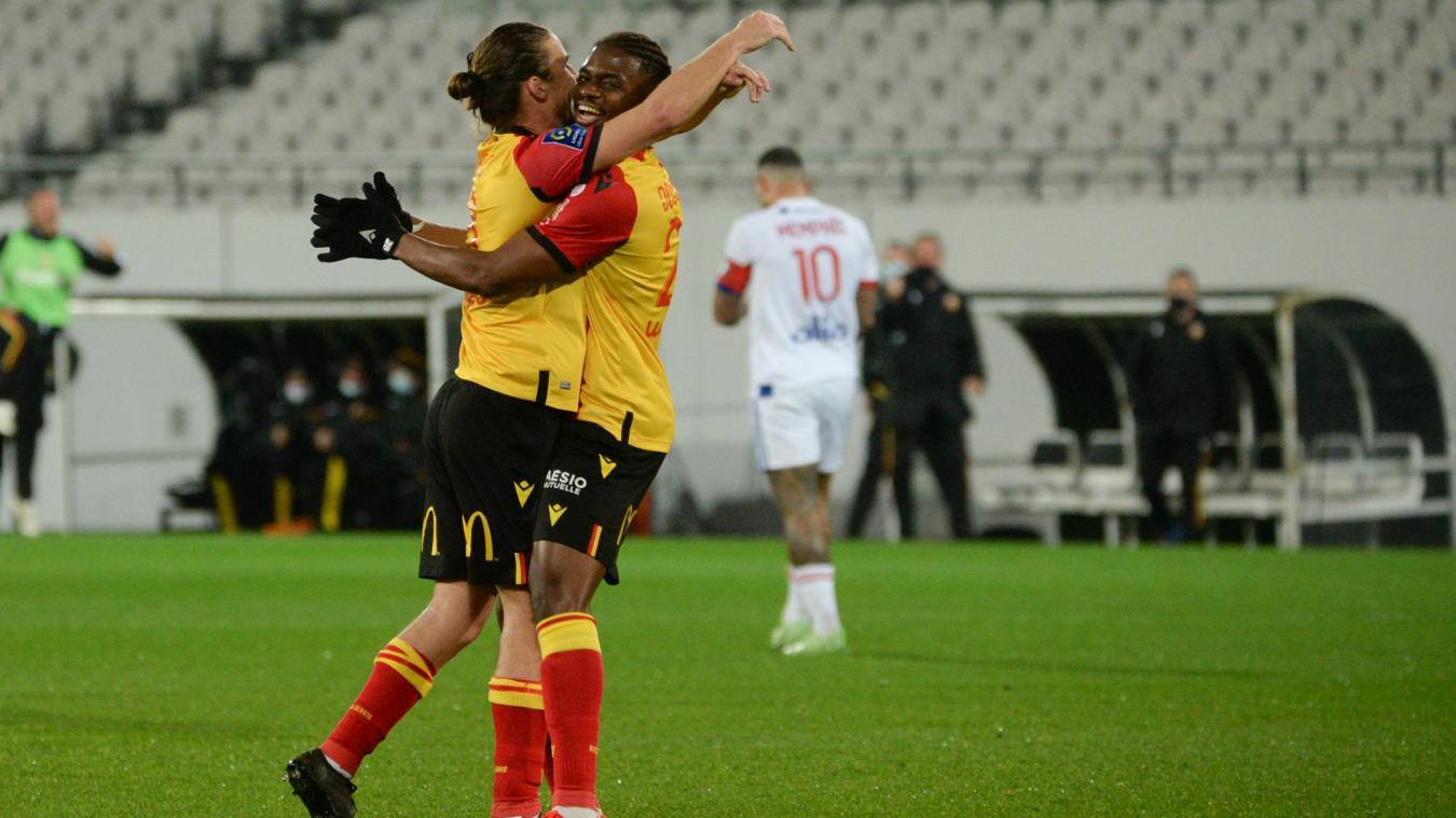 Les Lensois accrochent Lyon à domicile.
