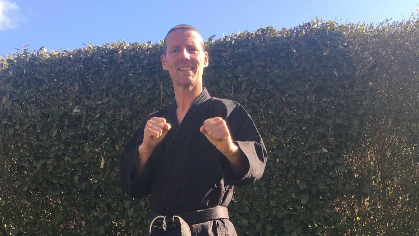 Christophe Derensy pratique les arts martiaux depuis l'âge de 11 ans.