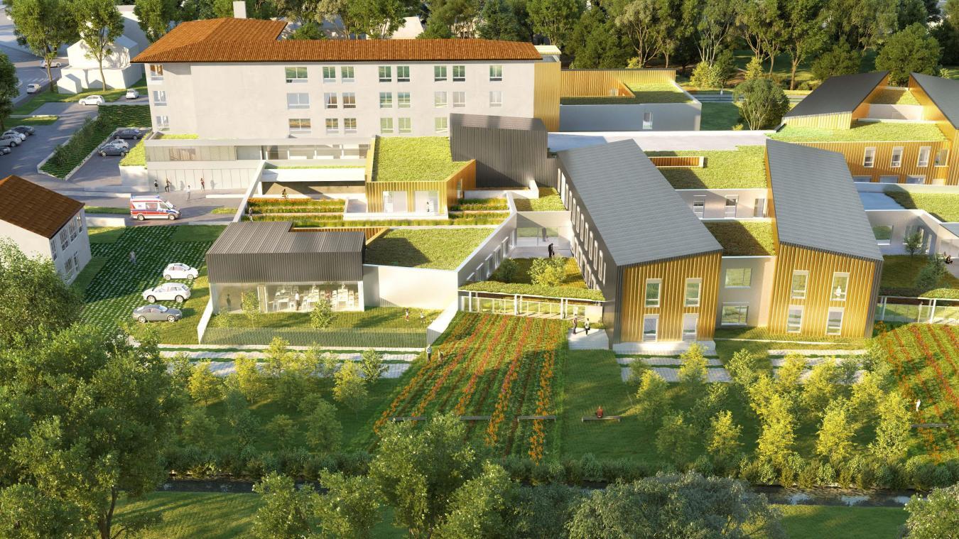 La perspective du nouveau centre hospitalier qui regroupera tous ses services sur le site Richelieu