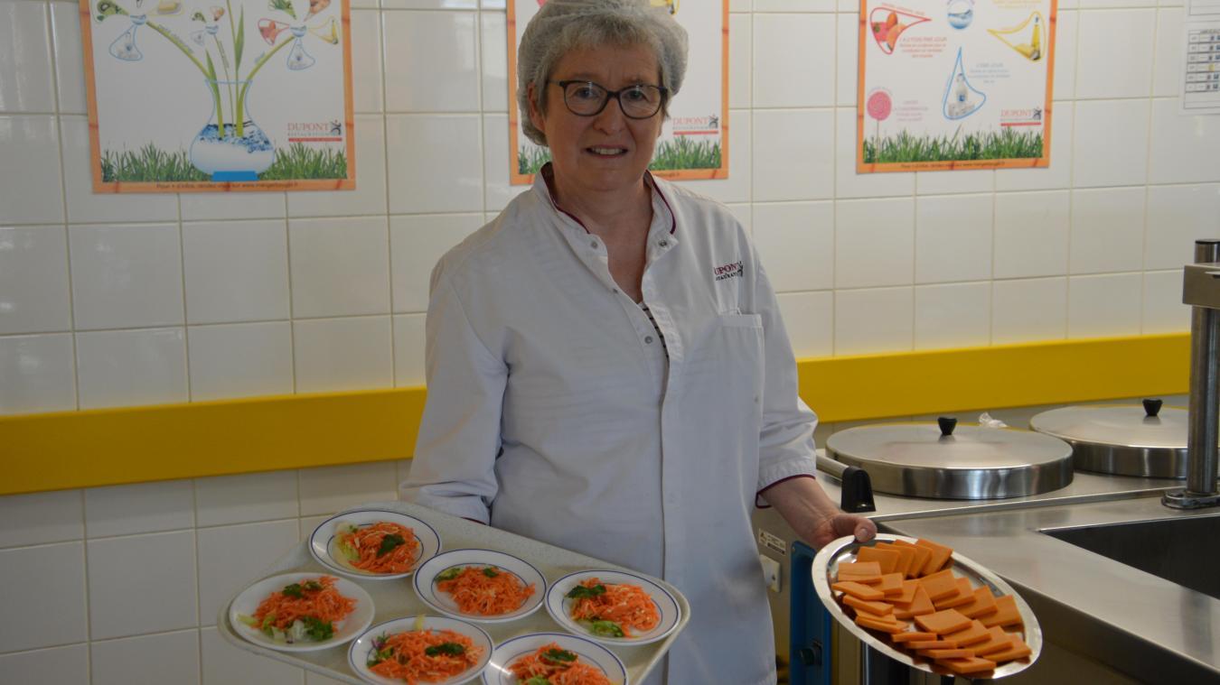 Catherine Bodelle a travaillé dans les écoles privées lestrémoises et au service restauration de la ville de Lestrem!