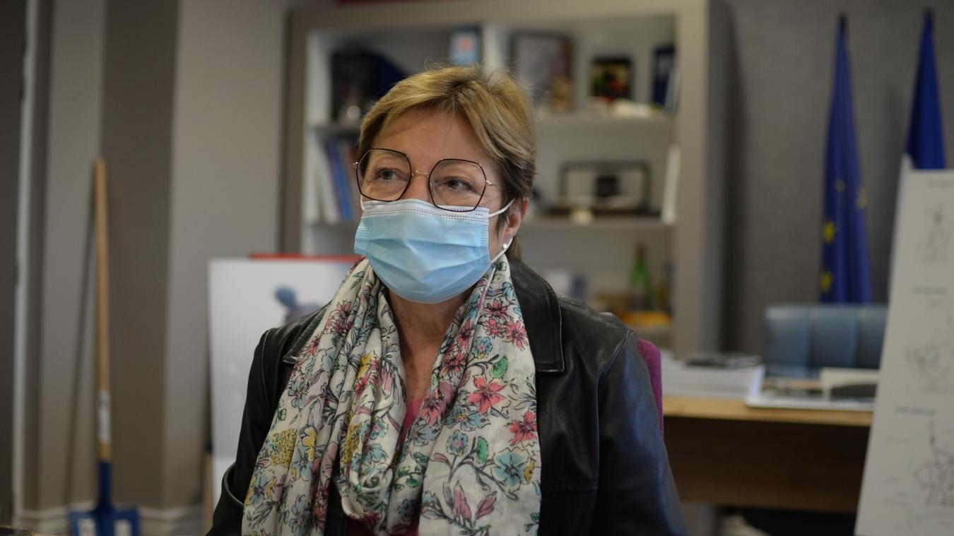 Natacha Bouchart a fait le tour des médias nationaux hier accusés de faire une mauvaise pub au vaccin AstraZeneca.
