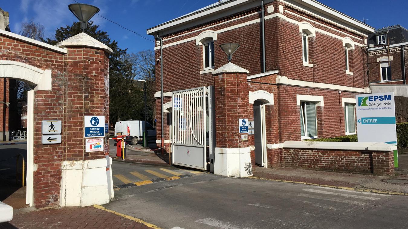 Les réfugiés sont accueillis dans des locaux de l'EPSM de Saint-Venant.