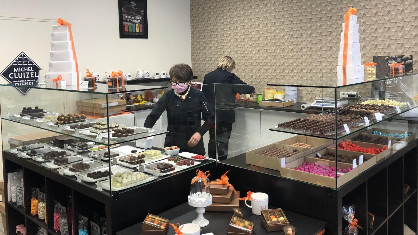 La chocolaterie Fève de cacao, auparavant installée rue du Président-Poincaré, a ouvert un nouveau magasin en 2018.