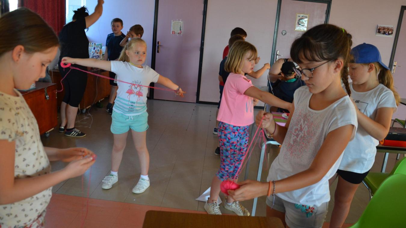 Les activités du centre de loisirs organisé par l'ESL d'Aire-sur-la-Lys sont très appréciées.