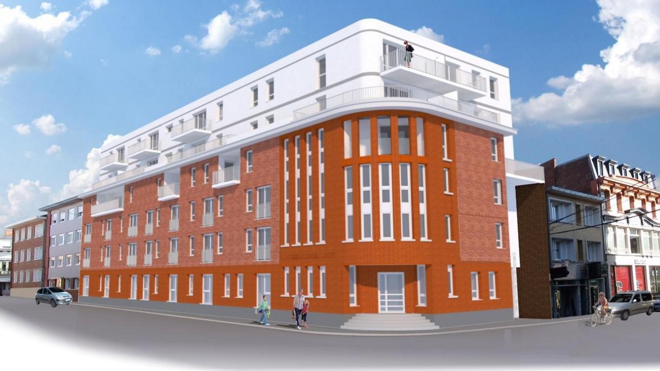 Les habitants seront répartis sur les trois étages.