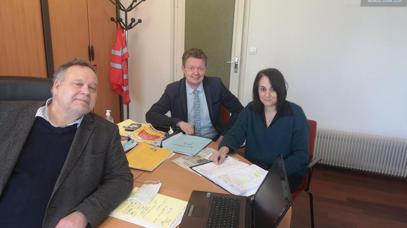 Jacques Marissiaux, proviseur, Audrey Valtat et Damien Coulle, proviseurs adjoints, se réjouissent de ces résultats.