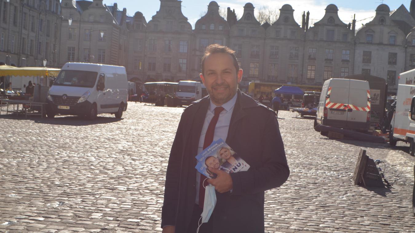 Sébastien Chenu poursuivra sa campagne électorale sur le territoire lors des jours à venir.