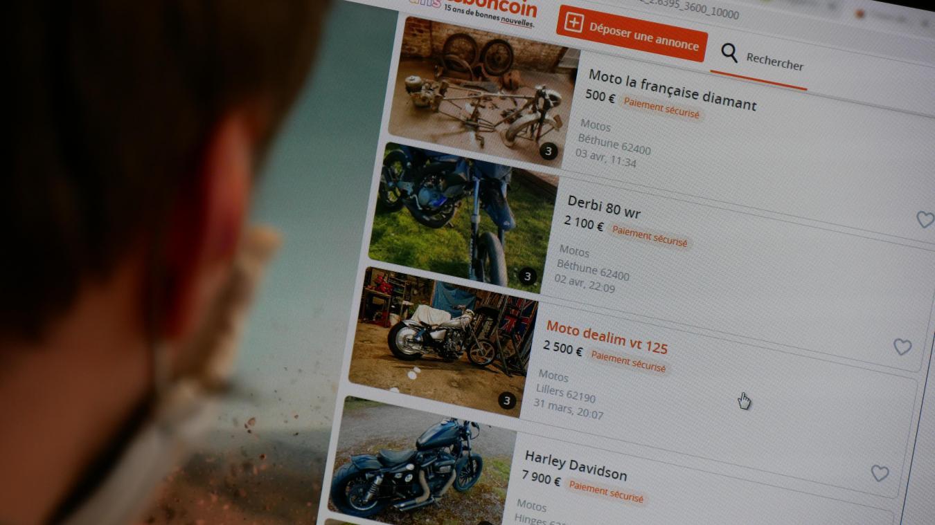 Le jeune homme a mené ses recherches sur le site internet leboncoin.fr