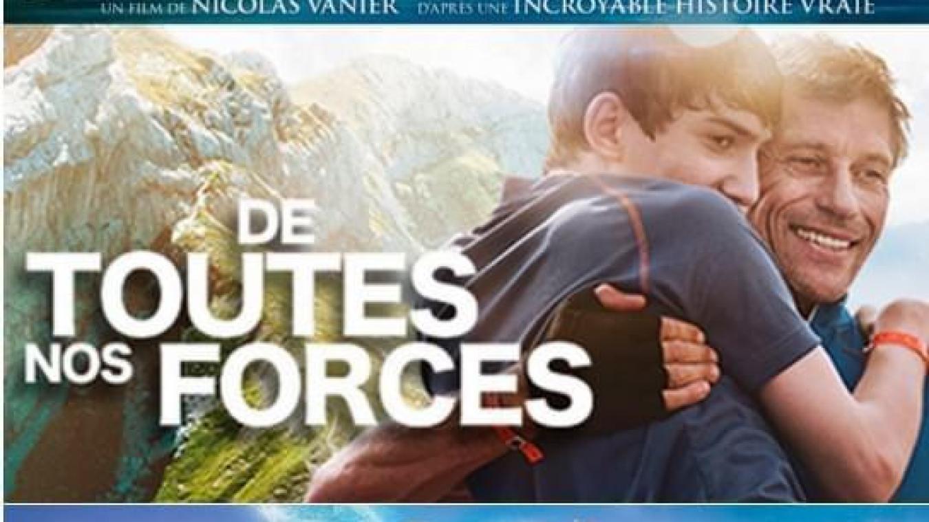 Affiche du film «De toutes nos forces»