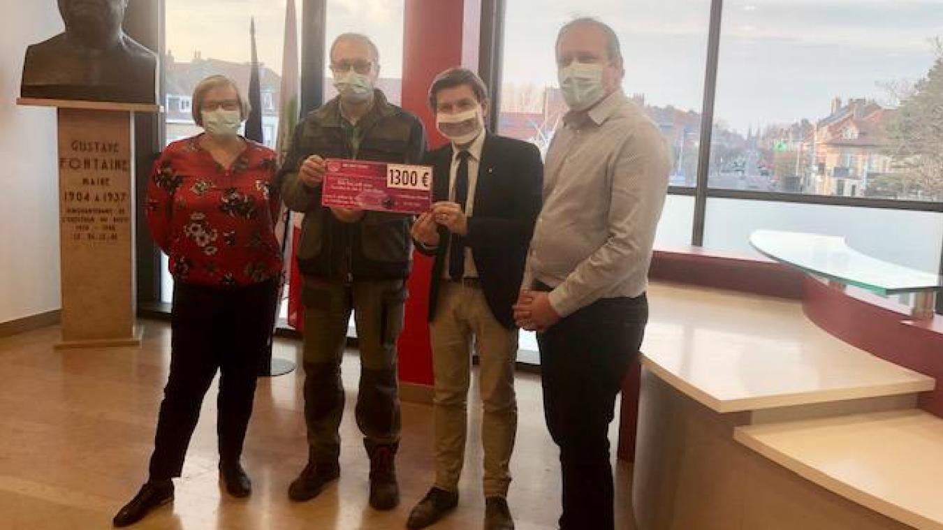 Les élus de la Ville de Coudekerque-Branche ont fait un don avec leurs propres fonds pour sauver l'église.