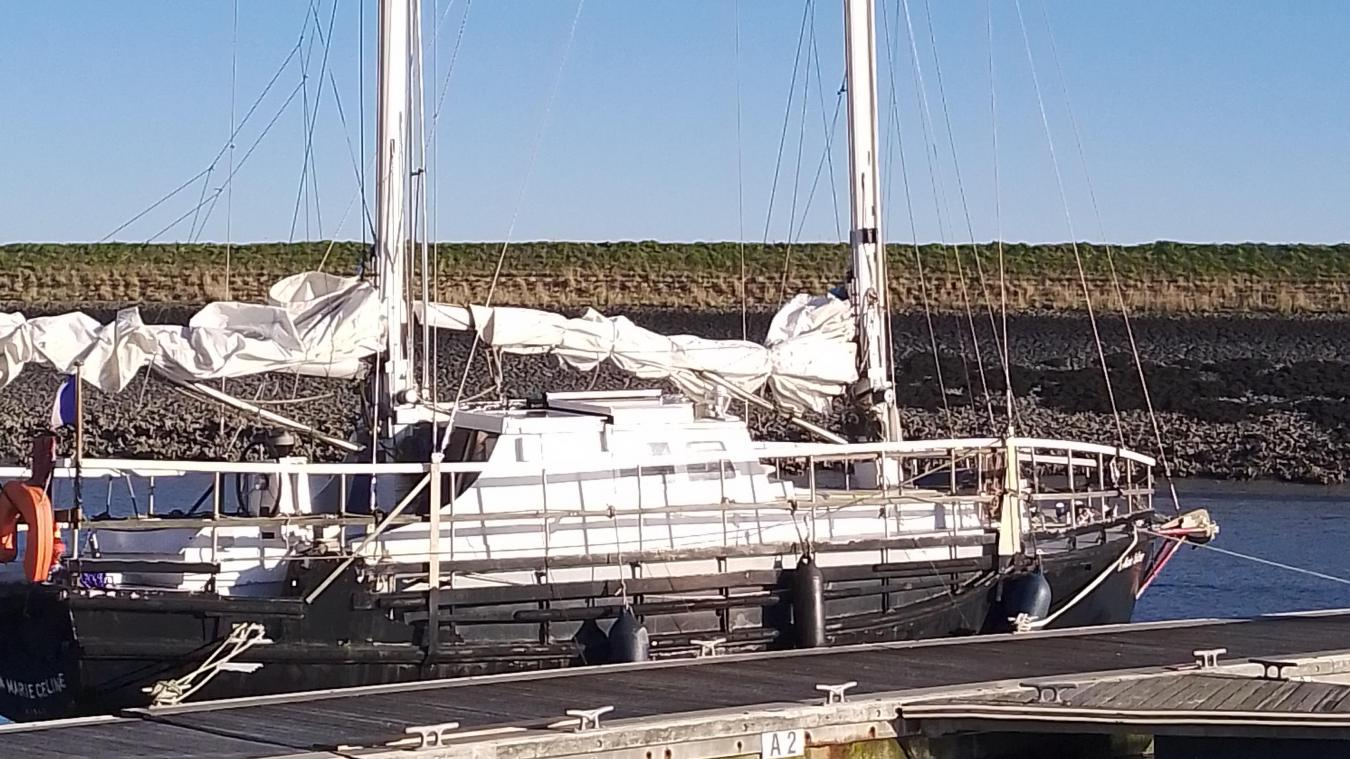 La Goélette Marie-Céline, amarrée au port de Dunkerque, a participé au tournage d'un film qui sera diffusé en fin d'année sur France 2.