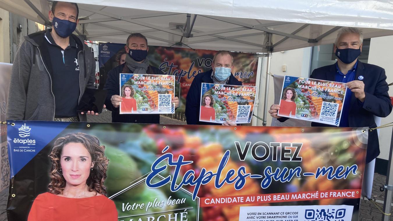 La Ville a mis plusieurs atouts de son côté pour représenter les Hauts de France à l'occasion du concours du Plus beau marché de France.