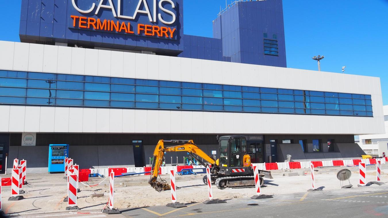 Calais : un nouveau bâtiment va sortir de terre au terminal ferry