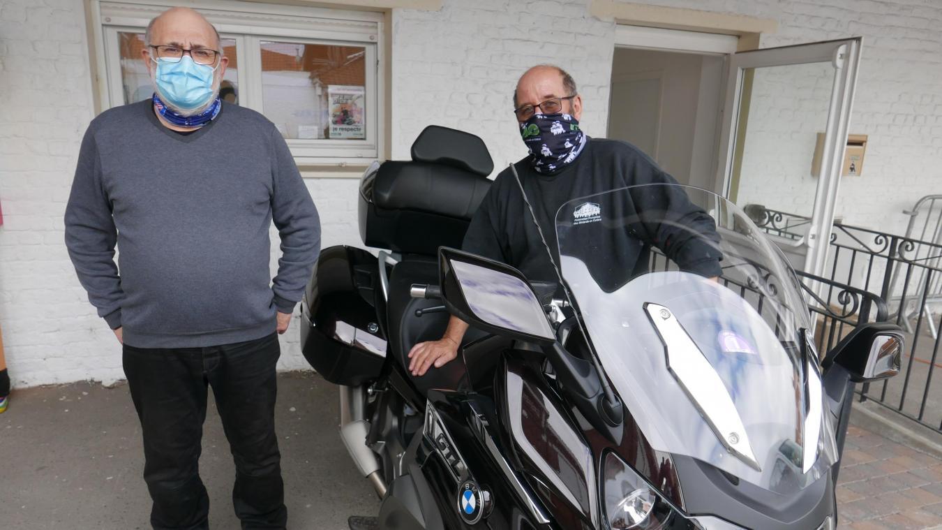 Philippe et Francis développeront aussi l'attractivité du site de Neuf-Berquin.