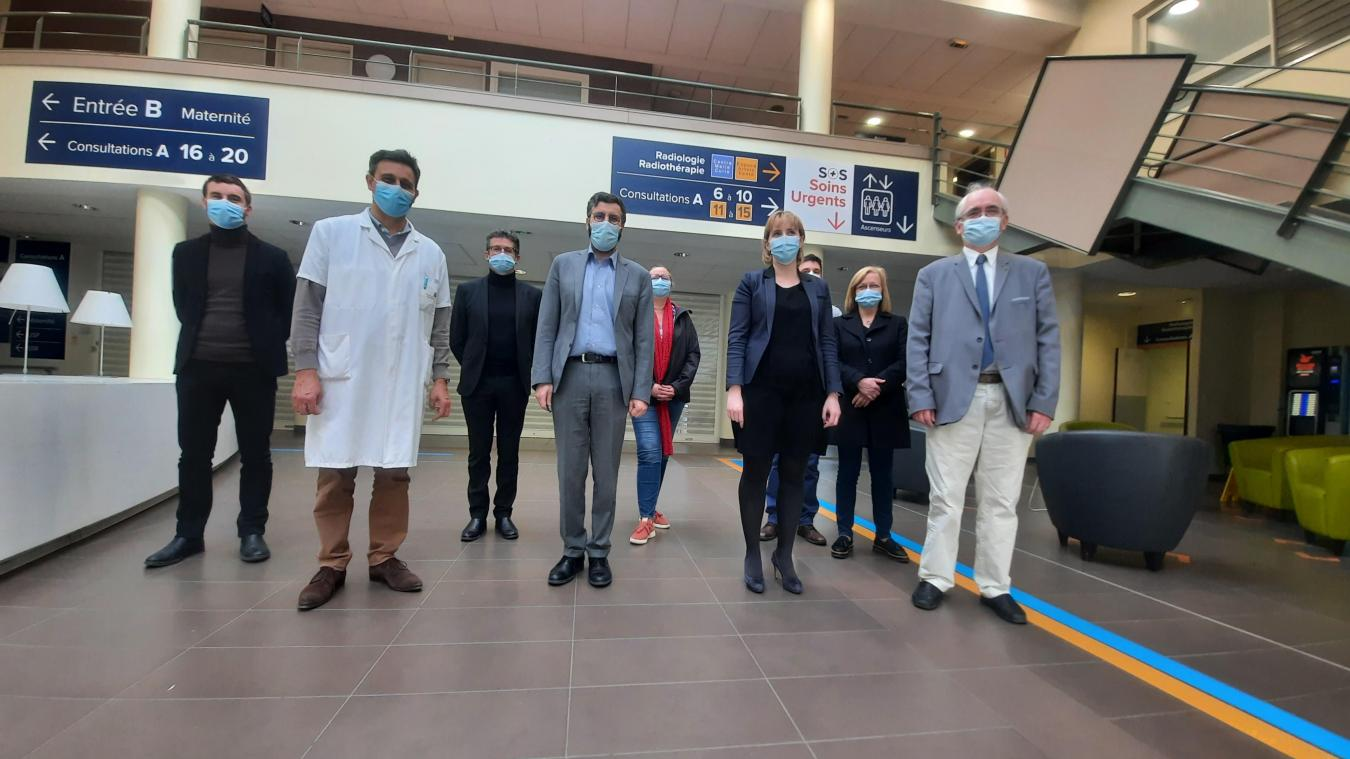 Vendredi 2 avril, une convention a été signée entre l'hôpital privé des Bonnettes et le centre hospitalier d'Arras, afin de maintenir la continuité des soins en chirurgie ambulatoire.