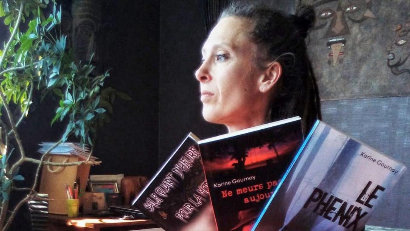 En trois romans, Karine Gournay a réussi à se tailler une belle expérience dans le monde du polar.