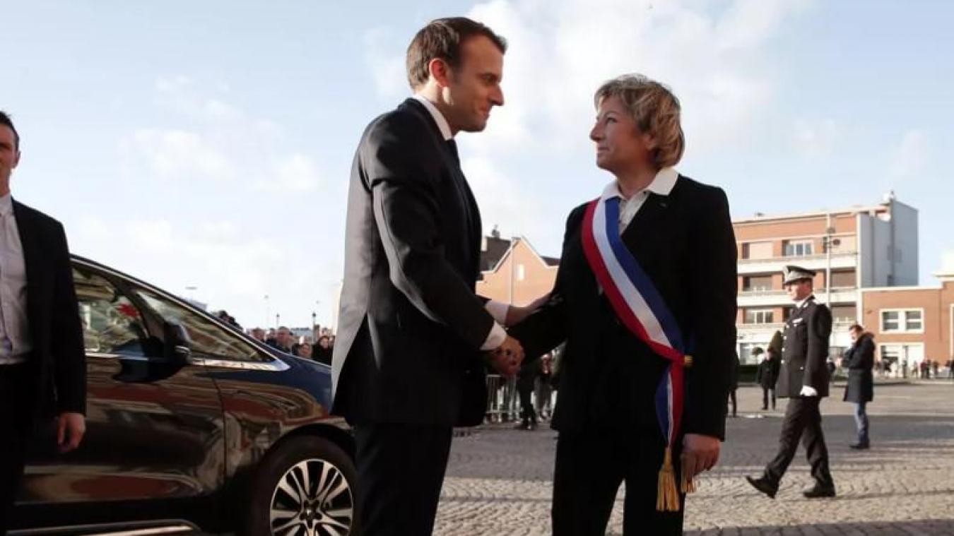 Natacha Bouchart, maire de Calais, a proposé l'idée d'une lettre ouverte au président de la République Emmanuel Macron à ses collègues élus de l'association des maires de France 62.
