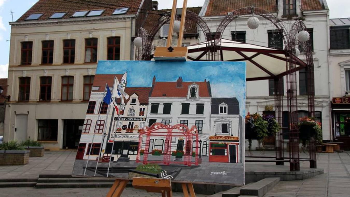 Une exposition de peintures est prévue, en plus du concours de dessins.
