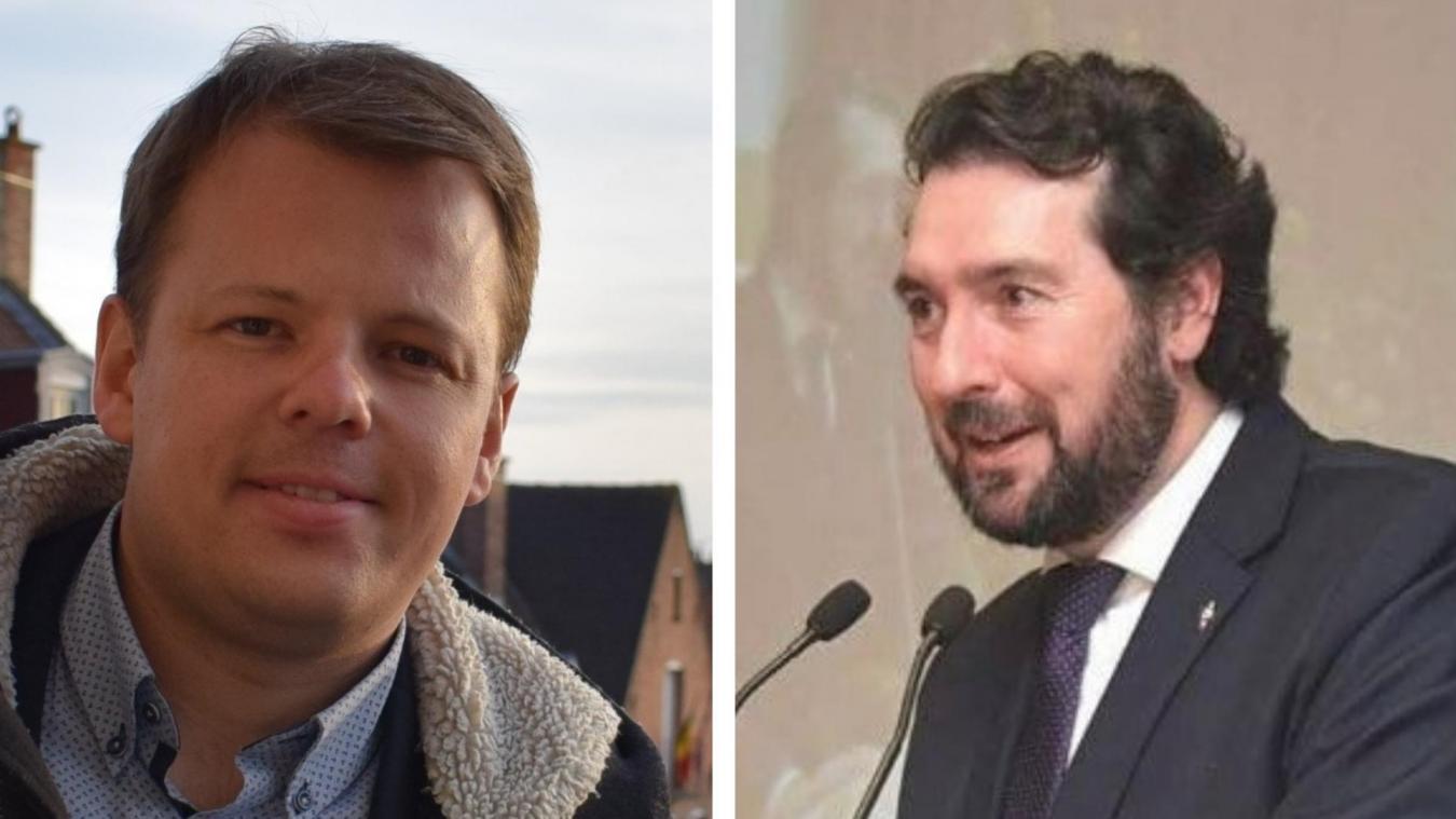 Il y a 6 ans, Paul-Loup Tronquoy (à gauche) et Benoît Vandewalle étaient face à face dans ces élections. Ils ne savent toujours pas s'ils le seront cette année.