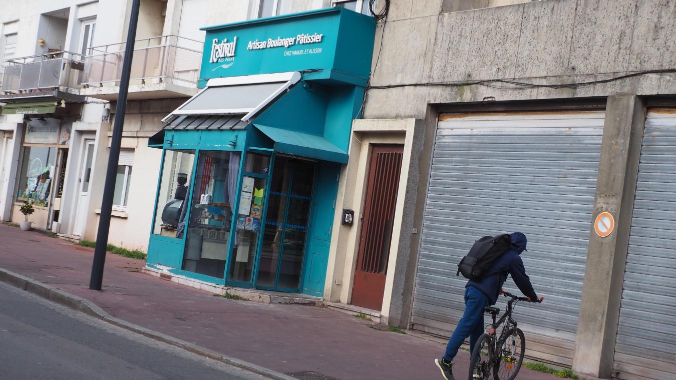 Les faits se sont déroulés derrière la place d'Armes, rue Jean Noël Dubout et près du supermarché Match.