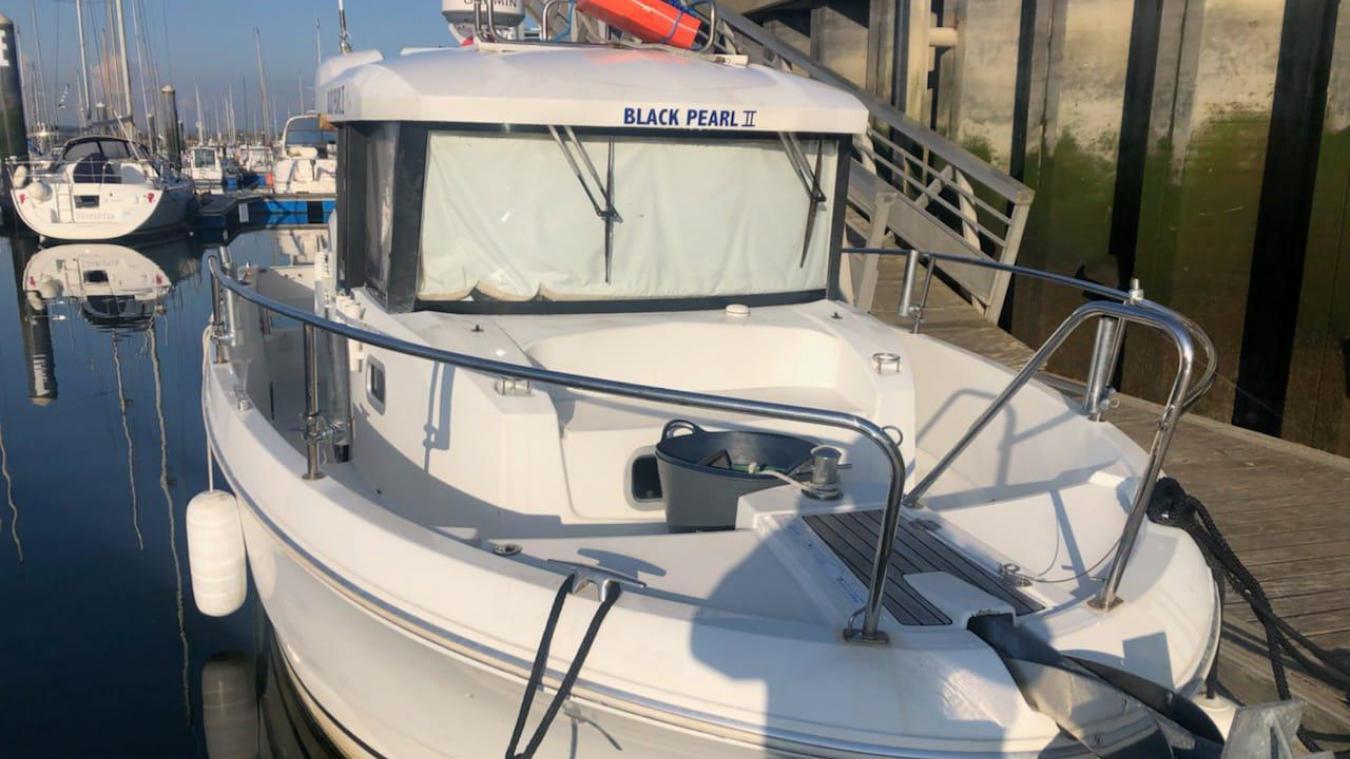 Le Black Pearl 2 est le bateau qui a été ciblé par les voleurs.
