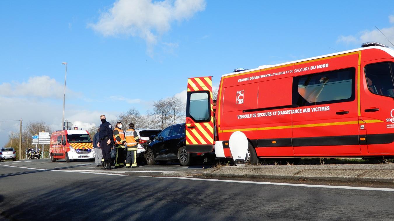 Deux véhicules de pompiers sont intervenus ce matin à Leffrinckoucke.