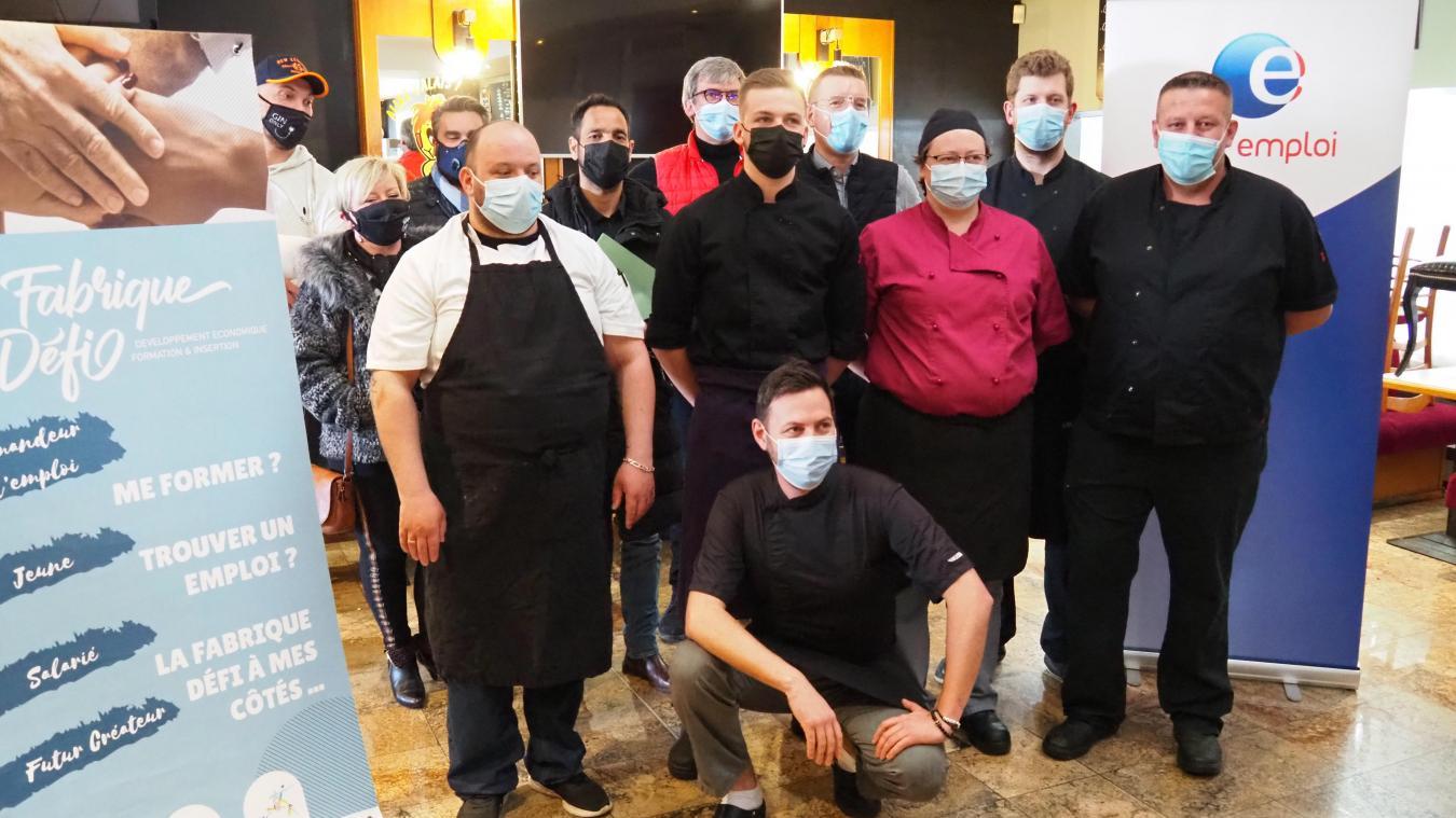 L'Umih, Pôle Emploi et la Fabrique défi organisent des formations pour le service en salle et en cuisine, car les besoins se font pressants...