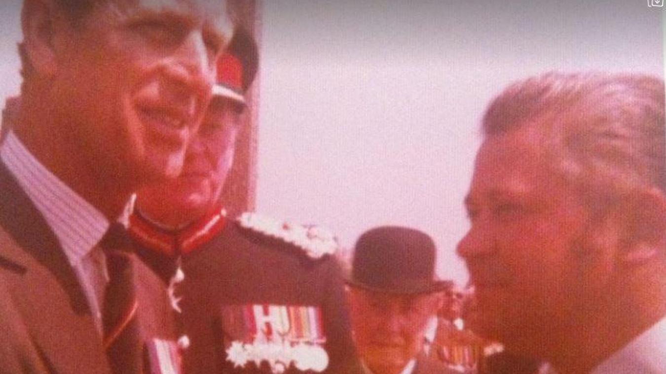 L'ancien maire d'Esquelbecq, Gabriel Deblock, avait rencontré le prince Philip dans les années 1970.