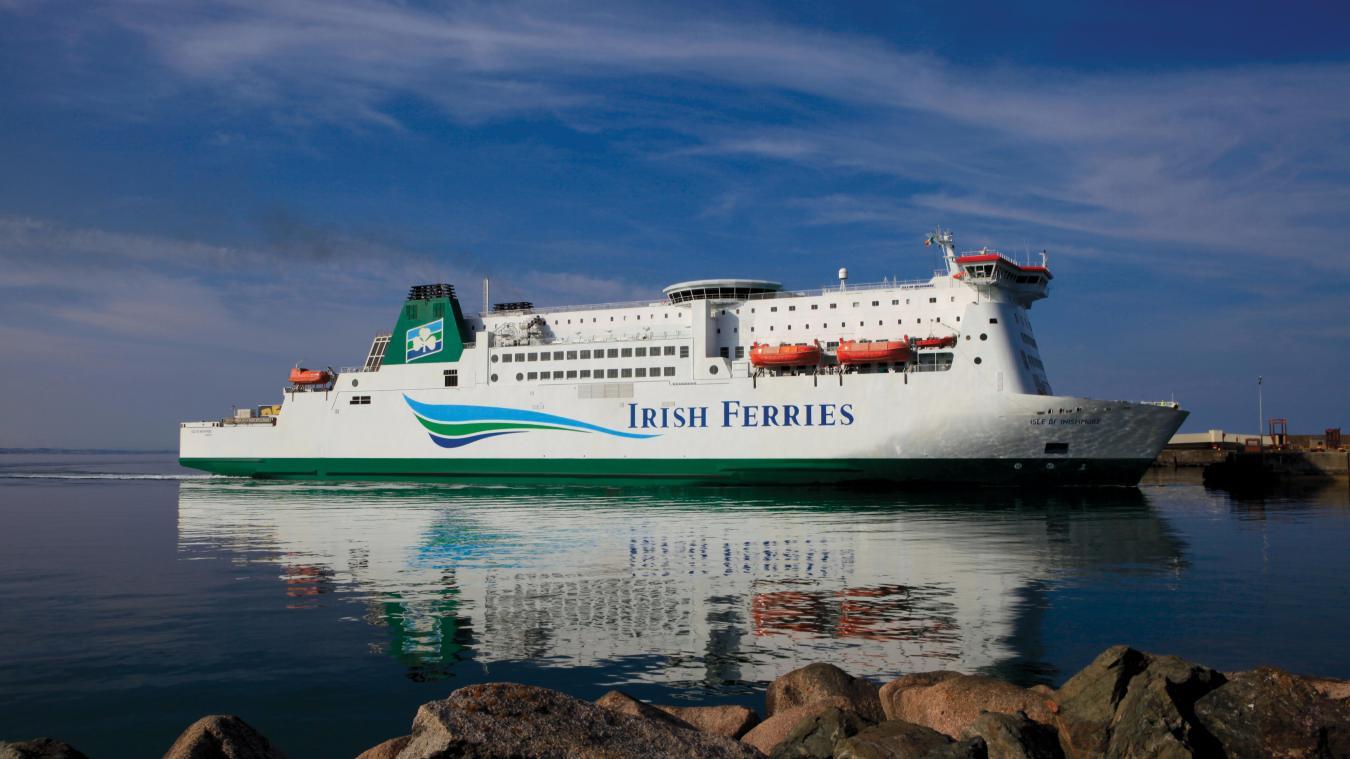 Irish Ferries prévoit d'implanter trois navires sur le Calais-Douvres.