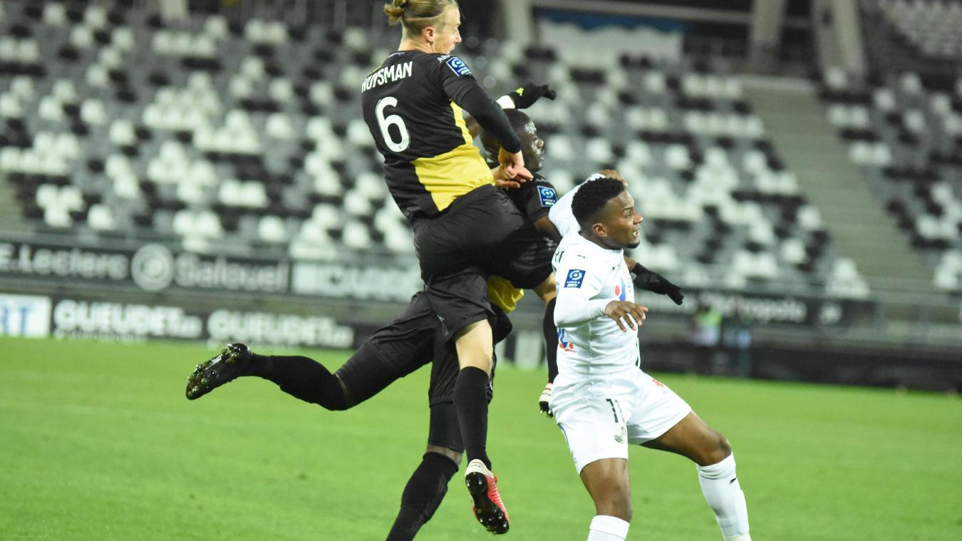 Jusqu'à présent, Jérémy Huysman entrait en jeu dans les dernière minutes pour apporter son expérience et son vice.