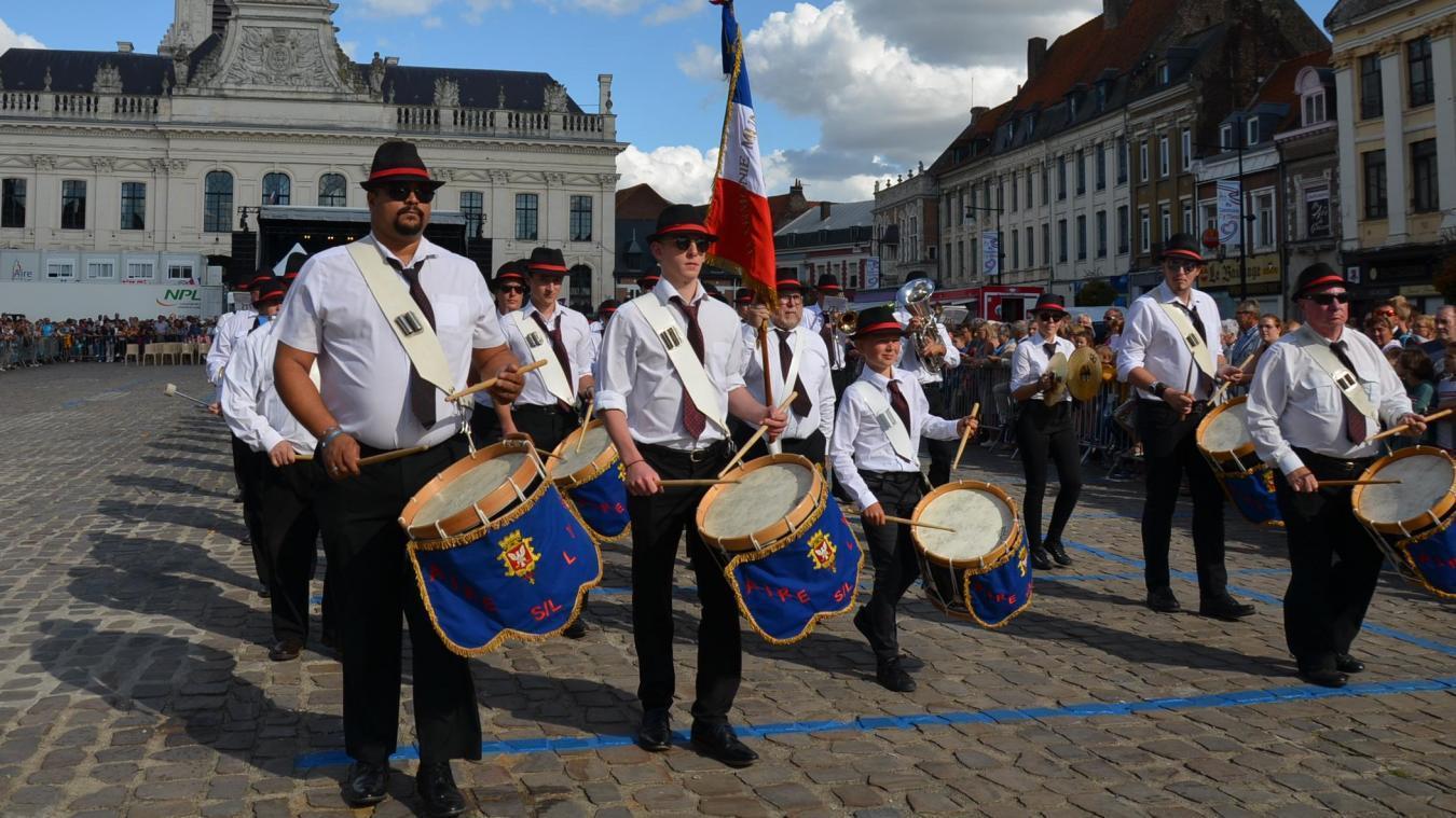 L'harmonie municipale d'Aire-sur-la-Lys touche 37 100 euros de subvention de la mairie.