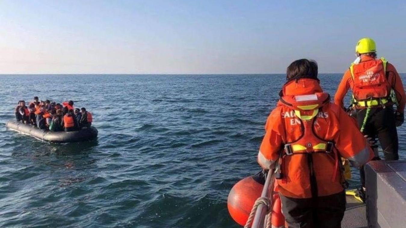 L'embarcation a été repéré au large du Cap Gris-Nez.