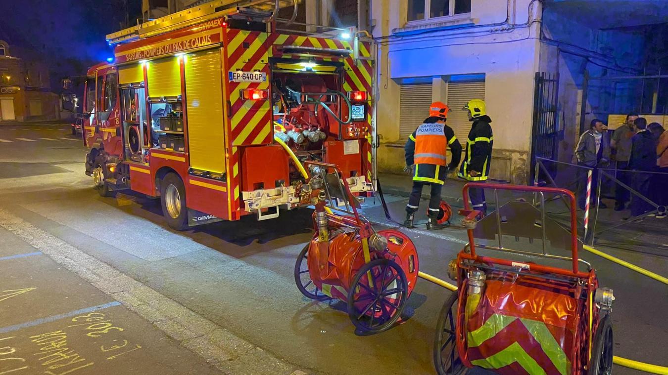 Les secours sont intervenus rapidement, et ont pu stopper l'incendie.