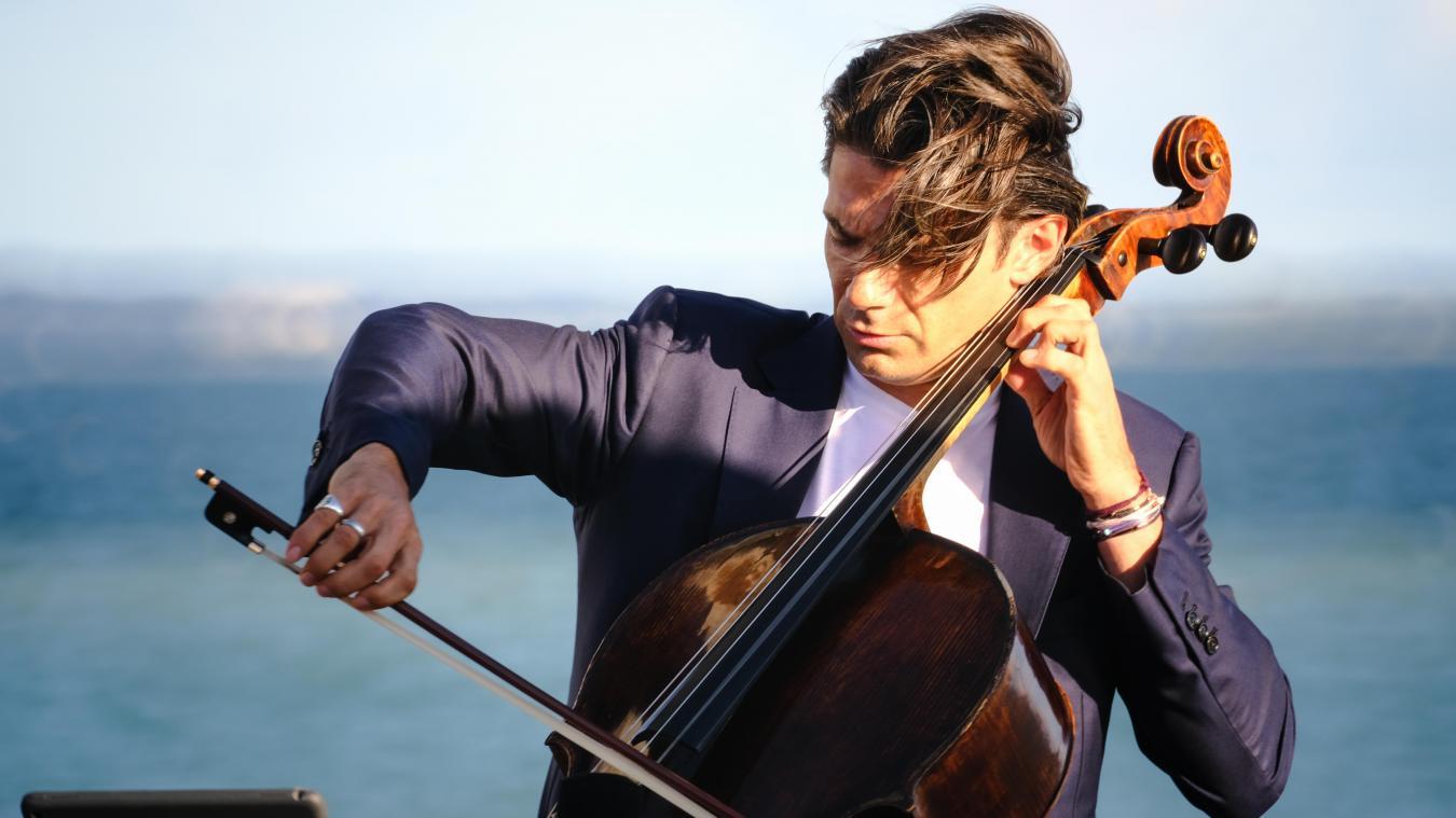 Gautier Capuçon sera en concert à Estaires le 21 juillet.