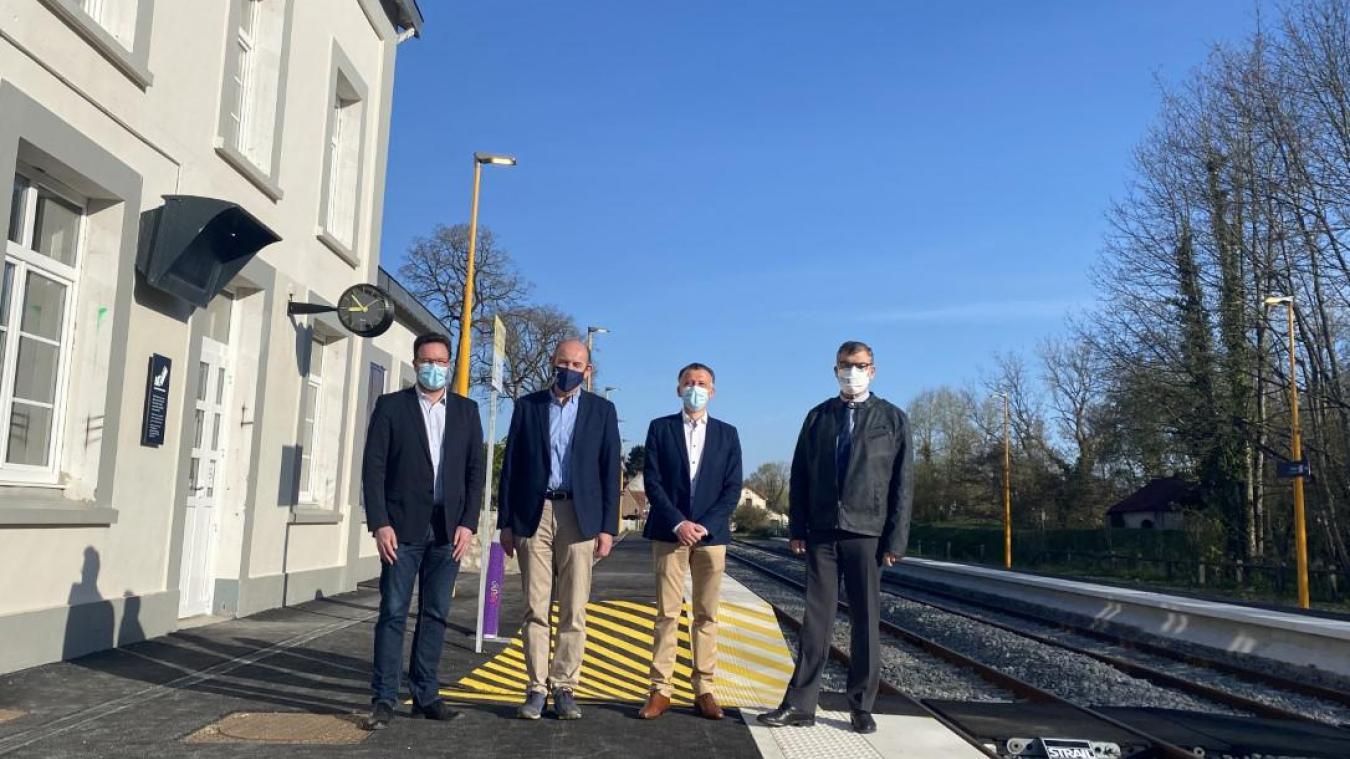 Des élus du Montreuillois qui se réjouissent de voir la ligne Étaples-Saint-Pol rouvrir dès ce lundi 26 avril.