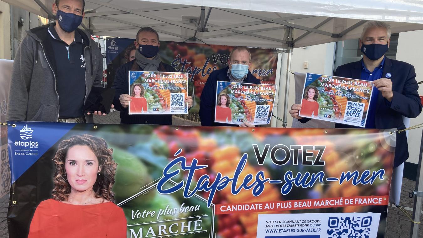 Les efforts de la Ville d'Étaples ont permis à son marché d'être retenu pour concourir au niveau national pour le titre du Plus beau marché de France.