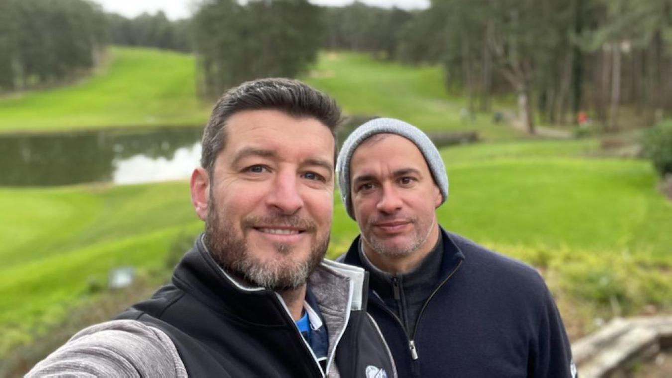Franck Queudrue a lancé sa société d'événementiel avec son ancien coéquipier du RC Lens Daniel Moreira.