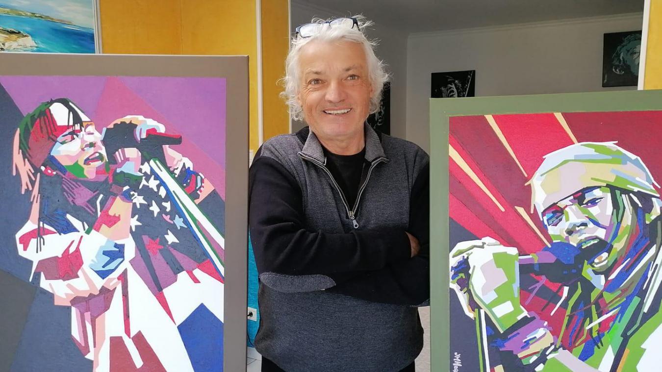 Une exposition de peintures, dans le cadre du jumelage avec Marsberg, était notamment programmée.