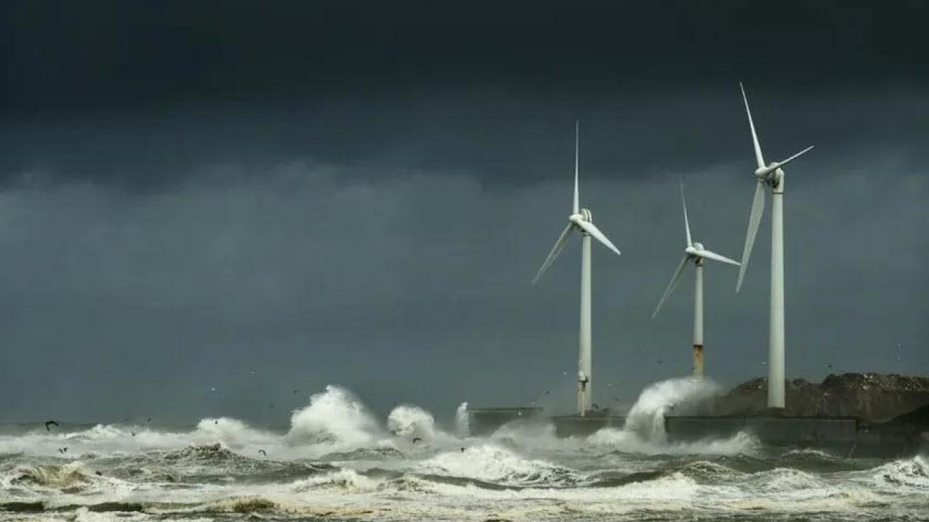 133,2 km/h : c'est le plus fort coup de vent capté à Boulogne-sur-Mer depuis le 20 novembre 2016.