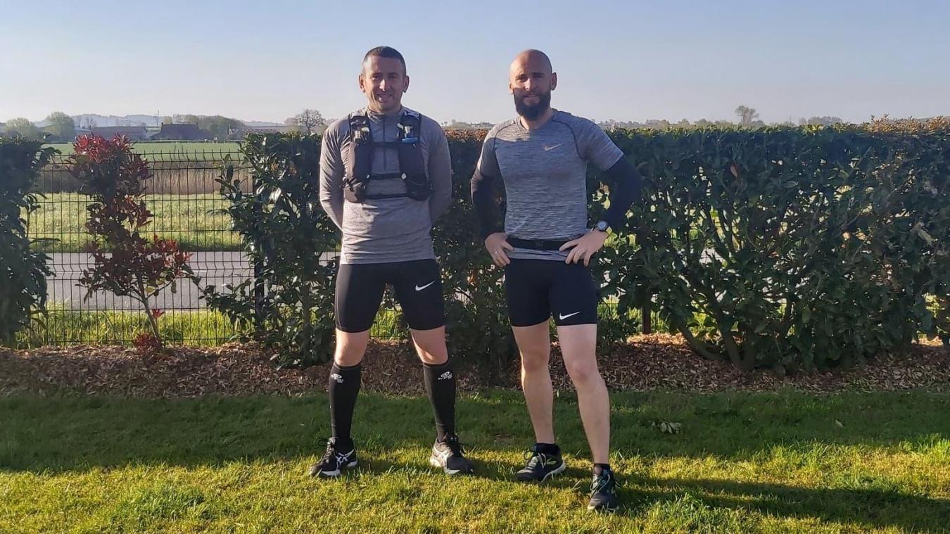 Les deux frères s'entraînent chaque semaine afin d'être prêts pour le jour J.