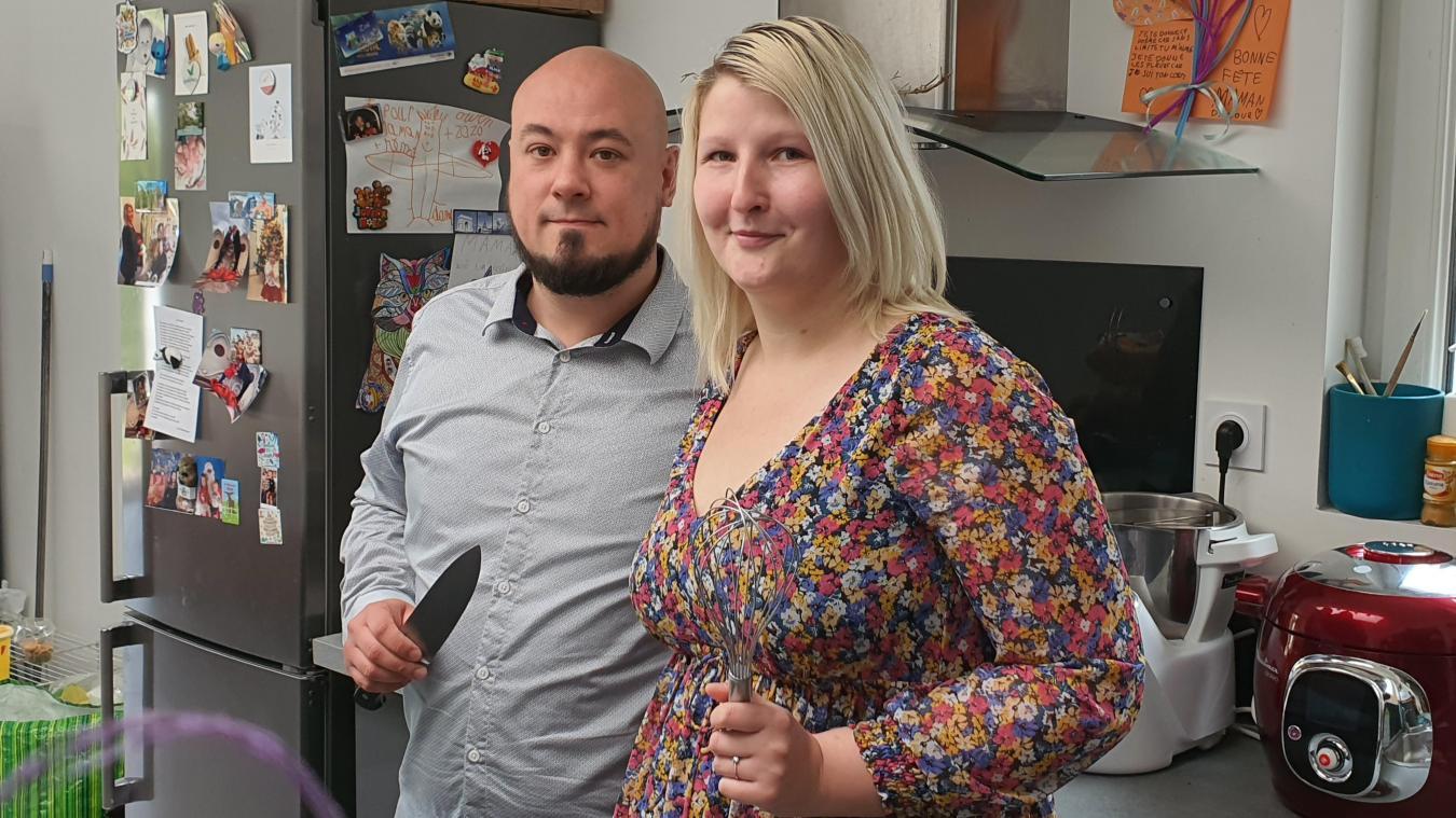 Rémy est cuisinier depuis 15 ans et Perrine a été serveuse et directrice de restaurant.